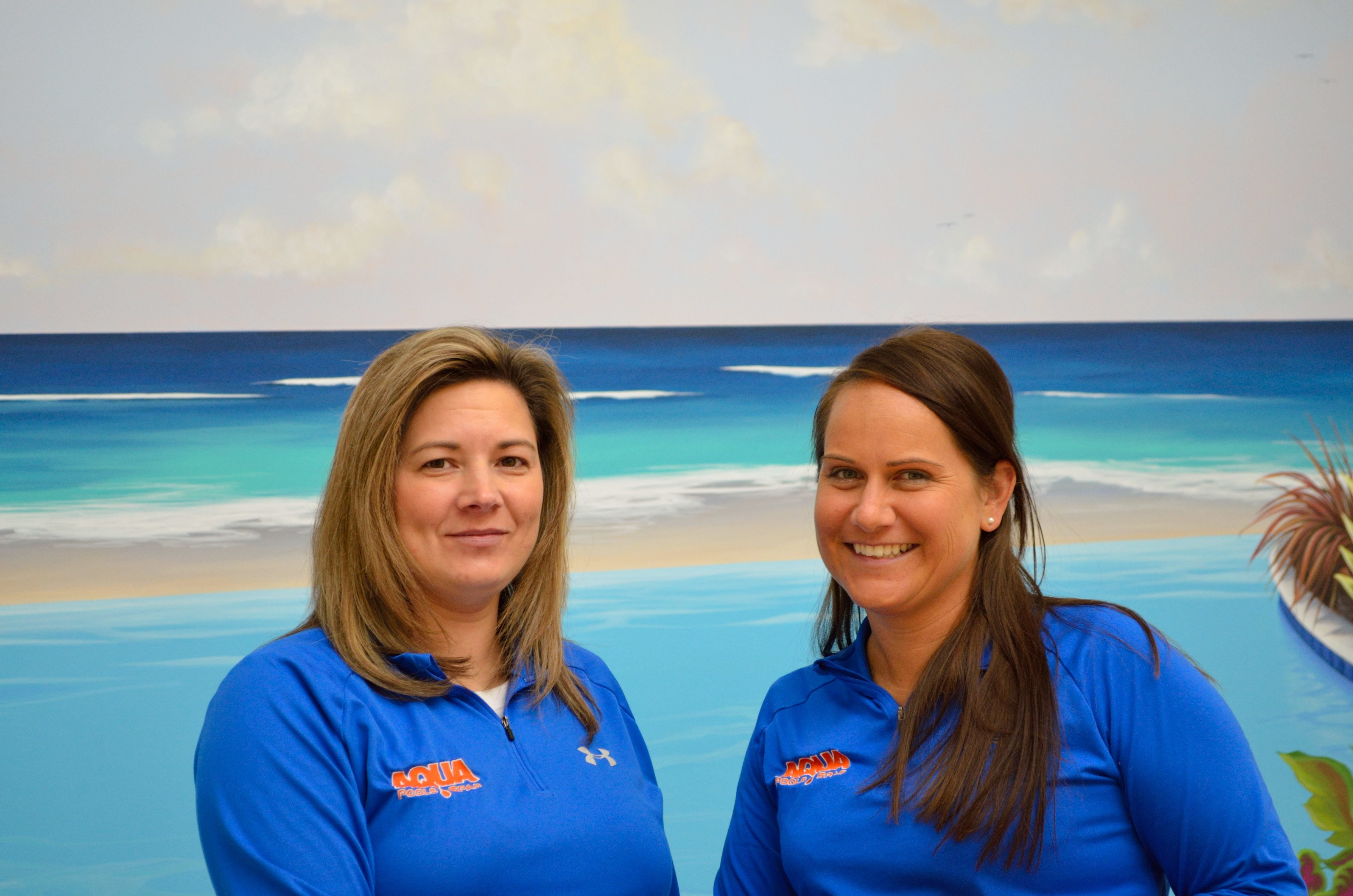 Jennifer & Ashley are here ready to help co-ordinate all your pool & spa service needs!