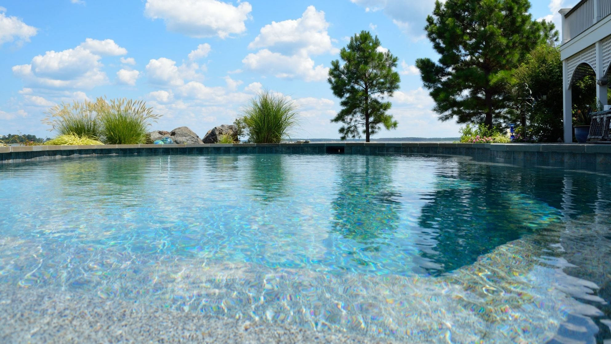 Aqua pools spas maryland custom pools hot tubs service for Pool design maryland