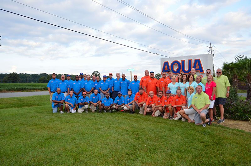 team AQUA's strength is our team's experience and stability that allows us to exceed your expectations.