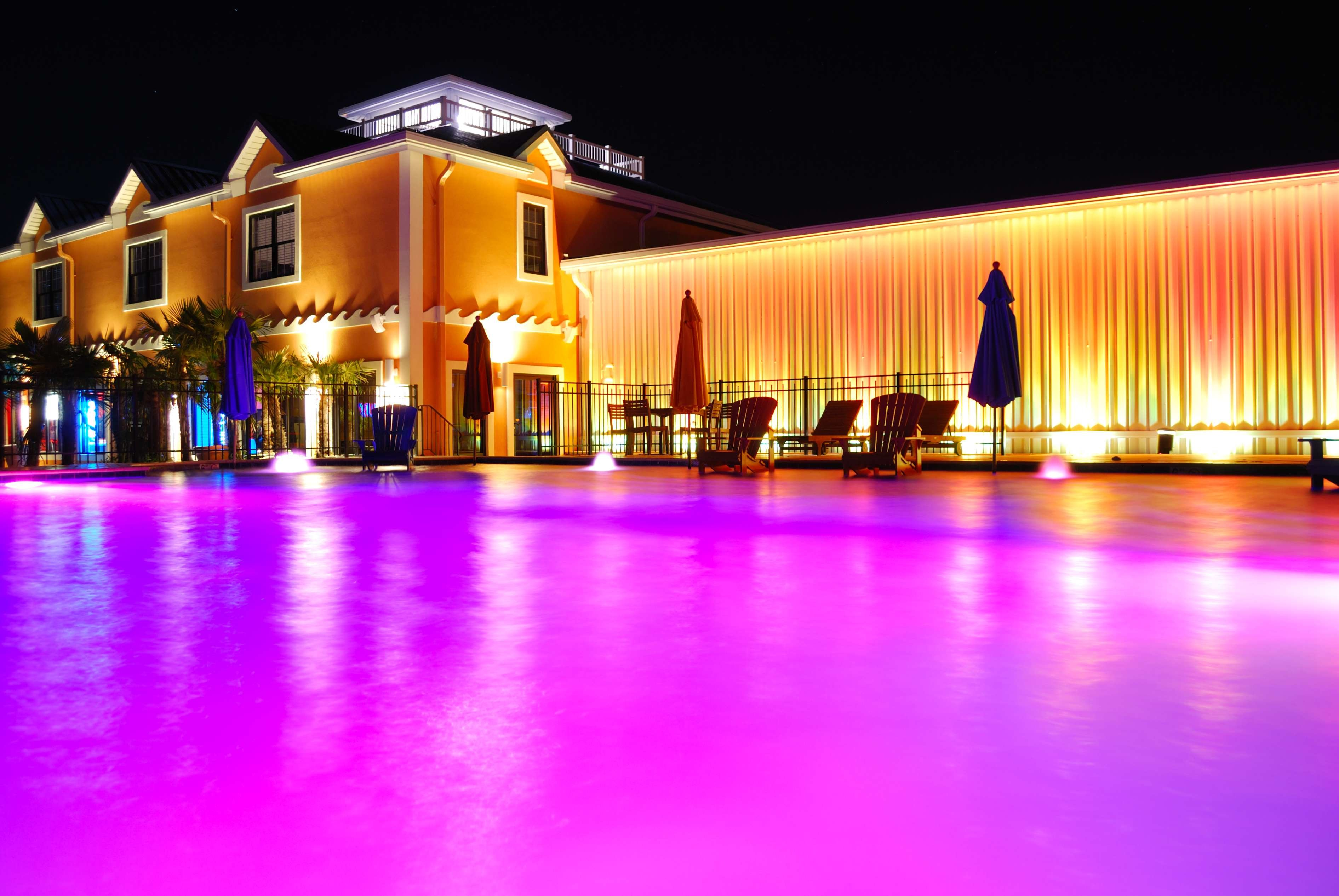 aquas pool goes pink for breast cancer awareness month