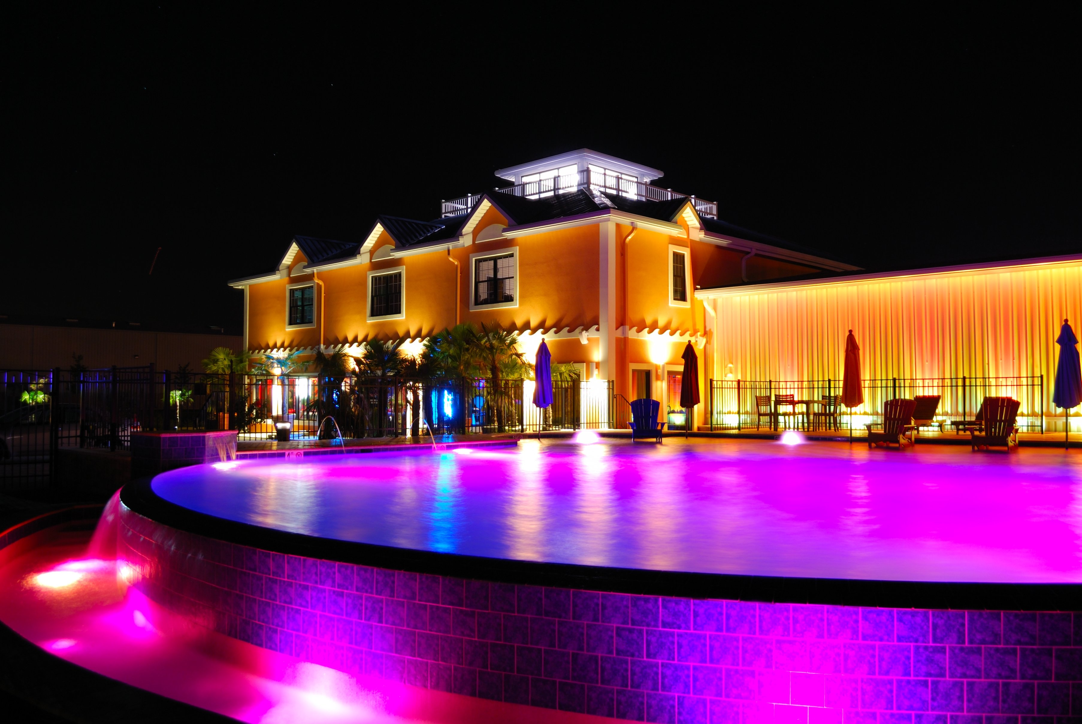Aqua S Pool Goes Pink For Breast Cancer Awareness Month